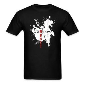 Darkness then Redness Then Whiteness - Men's T-Shirt