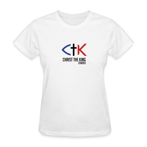 CTK Woman's - White - Women's T-Shirt