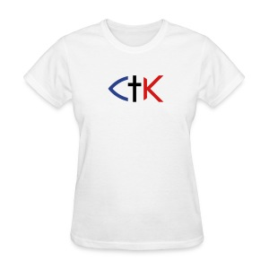 CTK Fish B Women's - White - Women's T-Shirt