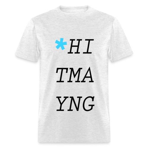 HITMAYNG UP DOWN BLUE STAR MEN'S - Men's T-Shirt