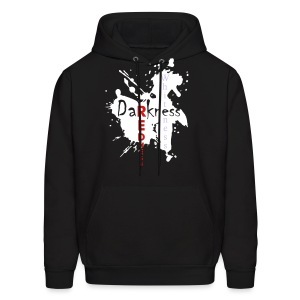 Darkness then Redness Then Whiteness - Men's Hoodie