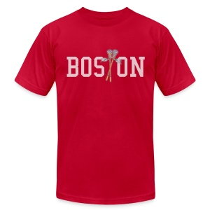 Boston Lax Men's American Apparel Tee - Men's T-Shirt by American Apparel