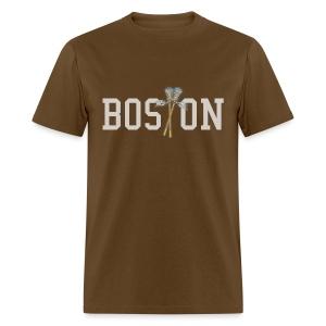 Boston Lax Men's Standard Weight T-Shirt - Men's T-Shirt