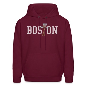 Boston Lax Men's Hooded Sweatshirt - Men's Hoodie