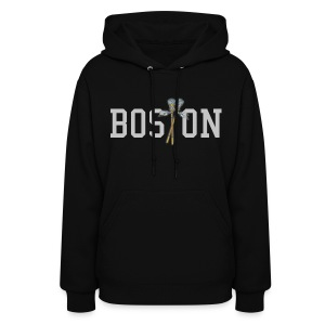 Boston Lax Women's Hooded Sweatshirt - Women's Hoodie