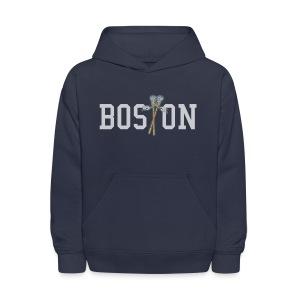 Boston Lax Kid's Hooded Sweatshirt - Kids' Hoodie
