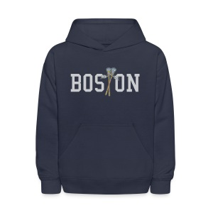 Boston Lax Kid's Hooded Sweatshirt - Kids' Hoodie