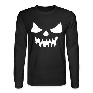 BOOOO! in BLACK - Men's Long Sleeve T-Shirt