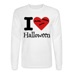 I Heart Halloween - Men's Long Sleeve T-Shirt