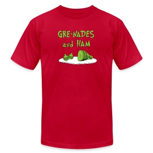 GRE-NADES and HAM - Men's Fine Jersey T-Shirt