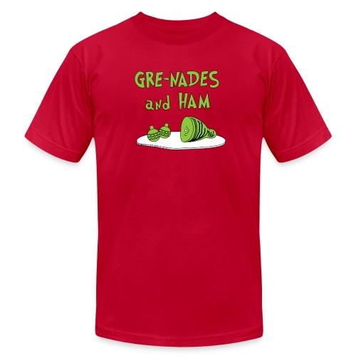 GRE-NADES and HAM - Men's Fine Jersey T-Shirt
