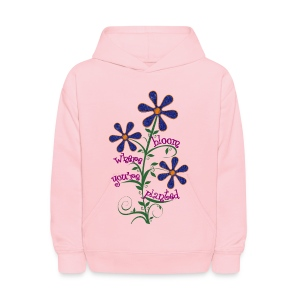 Bloom Where You're Planted - Kids' Hoodie