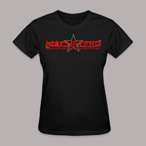 MACHETERO BLACK WOMEN - Women's T-Shirt