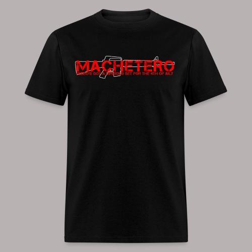 MACHETERO M16 BLACK MENS - Men's T-Shirt