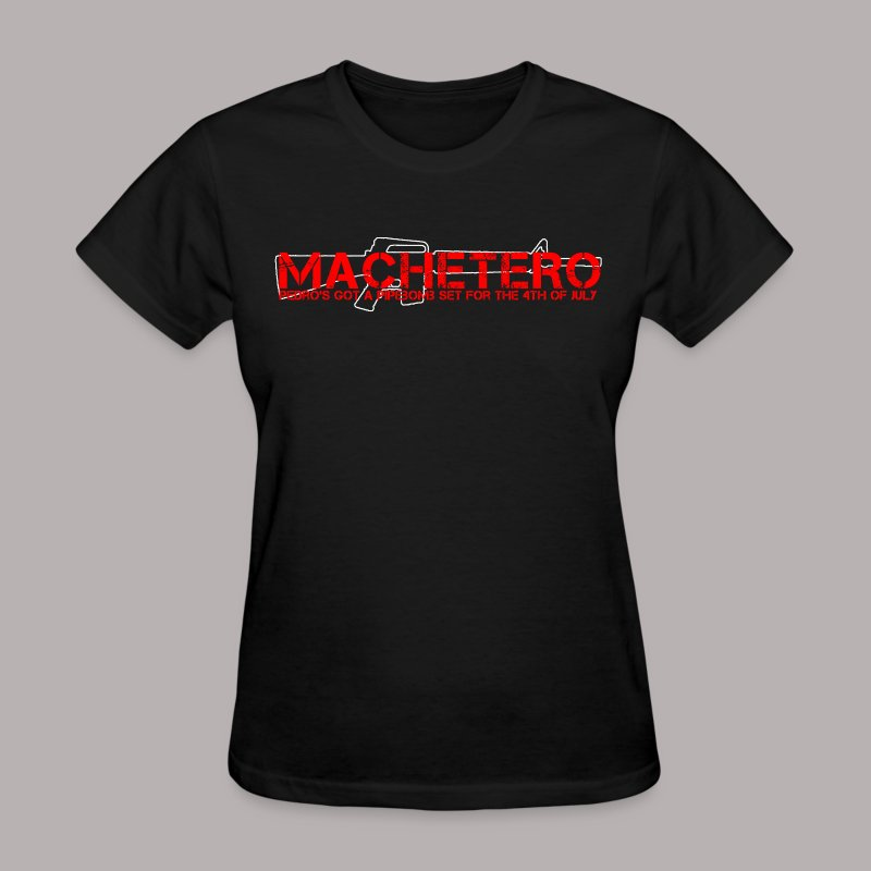 MACHETERO M16 BLACK WOMENS - Women's T-Shirt