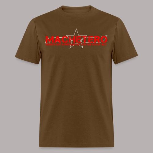 MACHETERO BROWN MEN - Men's T-Shirt