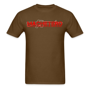 MACHETERO M16 BROWN MENS - Men's T-Shirt