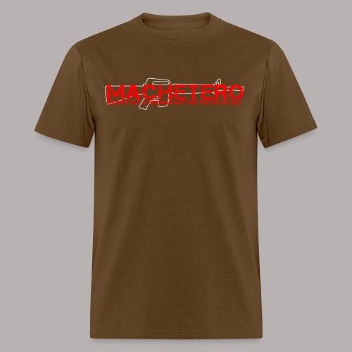 MACHETERO M16 BROWN MENS - Men's T-Shirt