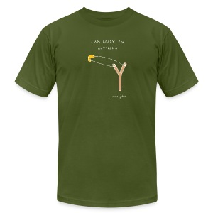 I am ready for anything - Mens color - Men's T-Shirt by American Apparel