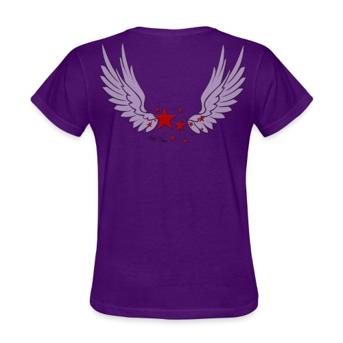 Women's T-Shirt - back detail design