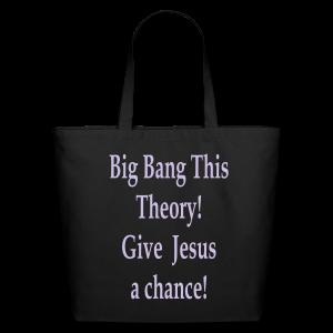 Big Bang This Theory! - Eco-Friendly Cotton Tote