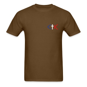 CTK Fish A Men's - Brown - Men's T-Shirt