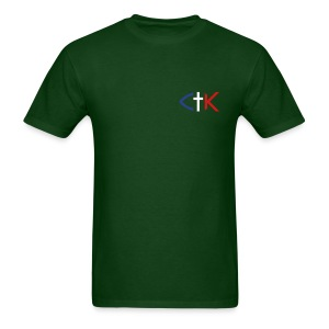 CTK Fish A Men's - Green - Men's T-Shirt