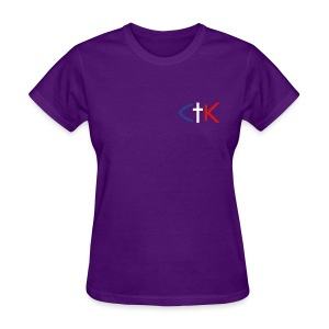 CTK Fish A Women's - Purple - Women's T-Shirt