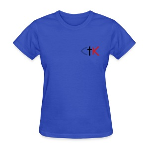 CTK Fish A Women's - Light Blue - Women's T-Shirt