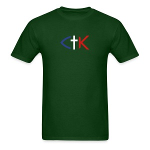 CTK Fish B Men's - Green - Men's T-Shirt