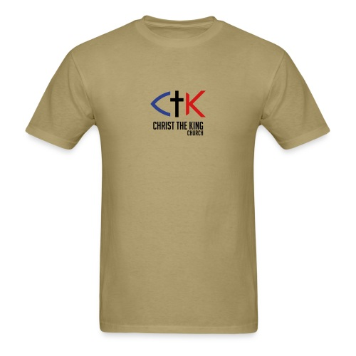 CTK Men's - Khaki - Men's T-Shirt