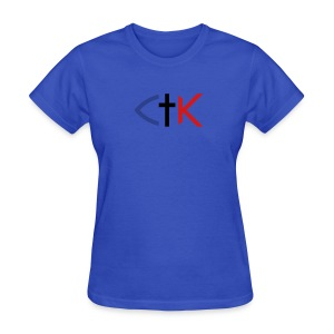 CTK Fish B Women's - Light Blue - Women's T-Shirt