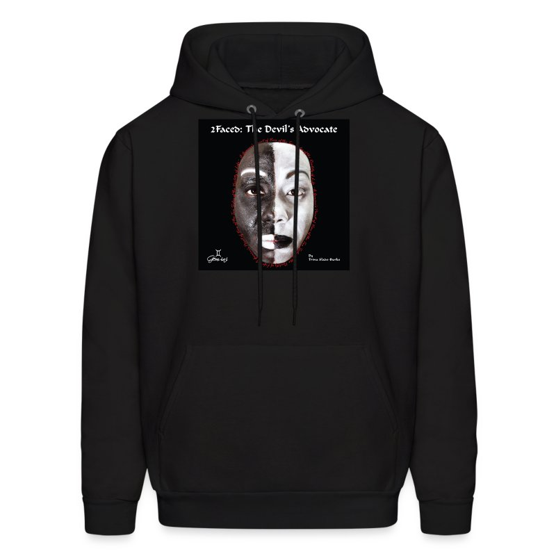 Limited edition 2Faced: The Devil's Advocate Men's Hoodie - Men's Hoodie