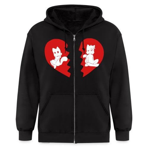 Paulo and Lucy Heartbreak Hoodie - Men's Zip Hoodie