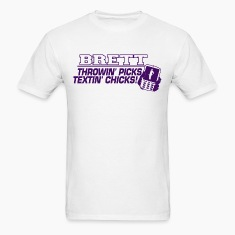 brett_purple2 T-Shirts