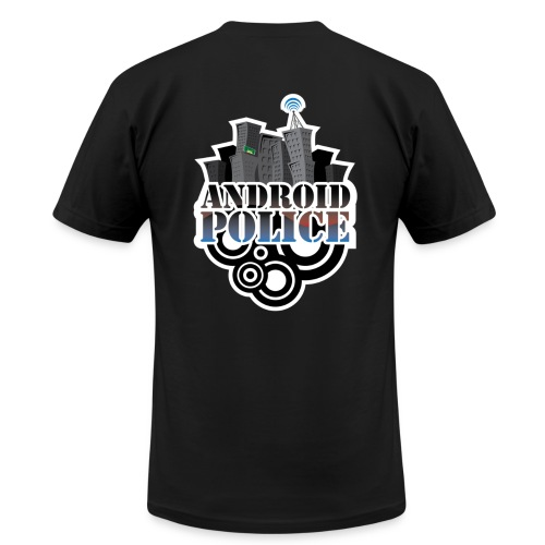Android Police - Front & Back - Men's T-Shirt by American Apparel