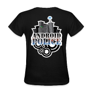 Women's T-Shirts ~ Women's T-Shirt ~ Android Police - Front & Back