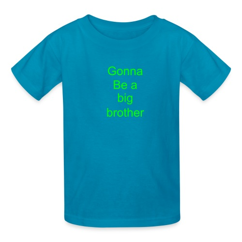Gonna be a big brother - Kids' T-Shirt