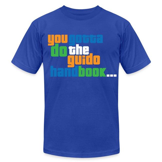 best website 4f6d9 cab44 Guido Handbook | Men's Jersey T-Shirt