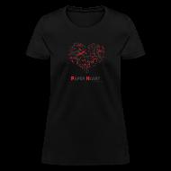 T-Shirts ~ Women's T-Shirt ~ Paper Heart Fan T-Shirt