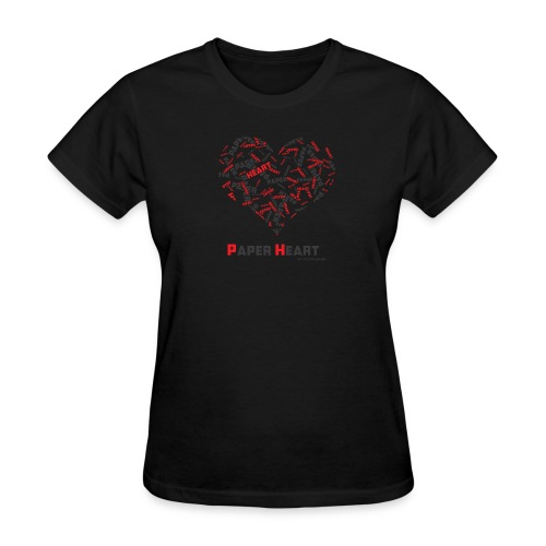 Paper Heart Fan T-Shirt - Women's T-Shirt