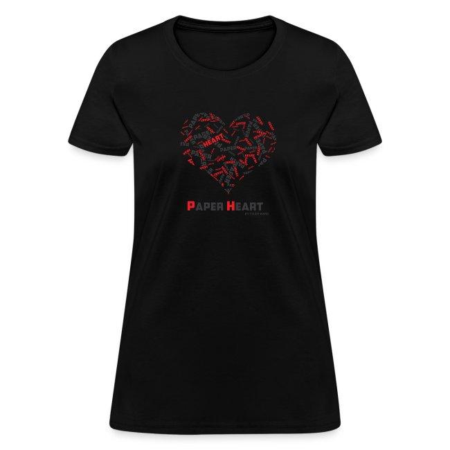 Paper Heart Fan T-Shirt