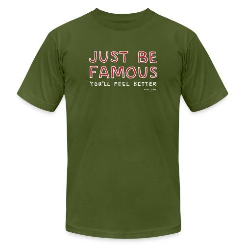 Just be famous - Mens color - Men's Fine Jersey T-Shirt