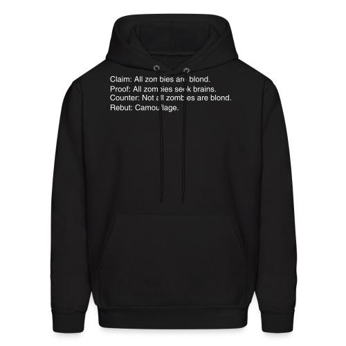 Zombies are blond - Men's Hoodie