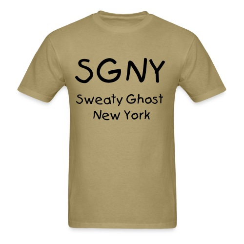 SGNY Sweaty Ghost New York Mens Shirt - Men's T-Shirt