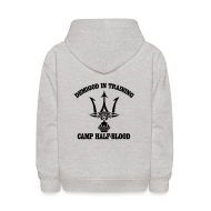 Sweatshirts ~ Kids' Hoodie ~ Double Sided Print Poseidon Trident - Kid Size Hoodie