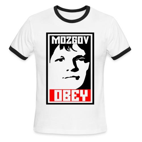 Mozgov - Ringer - Men's Ringer T-Shirt