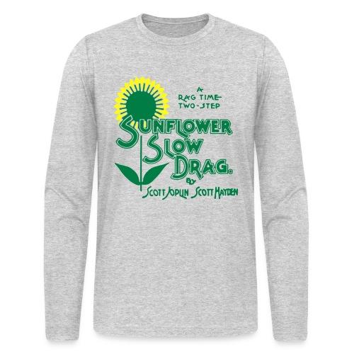 Hayden and Joplin's Sunflower Slow Drag Shirt - Men's Long Sleeve T-Shirt by Next Level