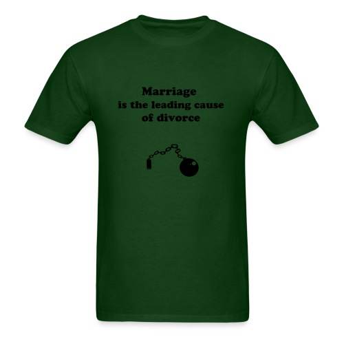 Funny marriage - Men's T-Shirt