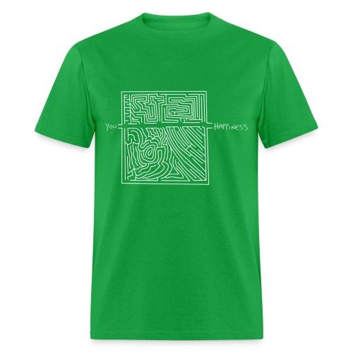 Happiness - Men's T-Shirt